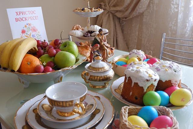 Jakie ciasta na Wielkanoc