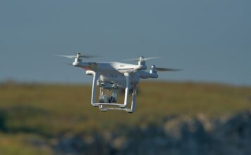 nowoczesny dron