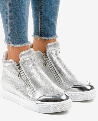 Srebrne buty